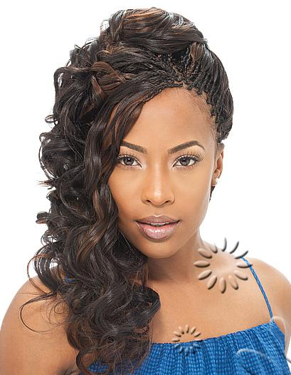 having longer hair verses that of traditional braids that are braided ...