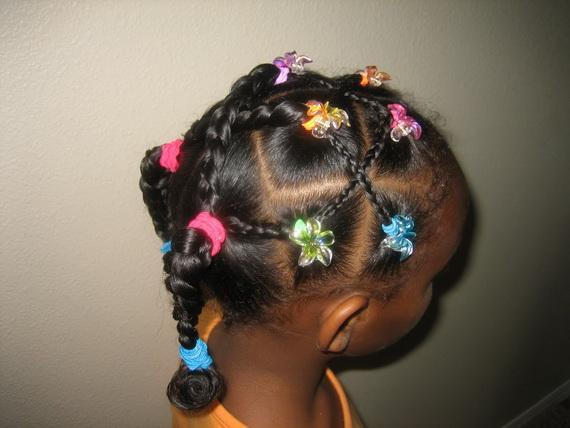 Black Girls Braids Hairstyle
