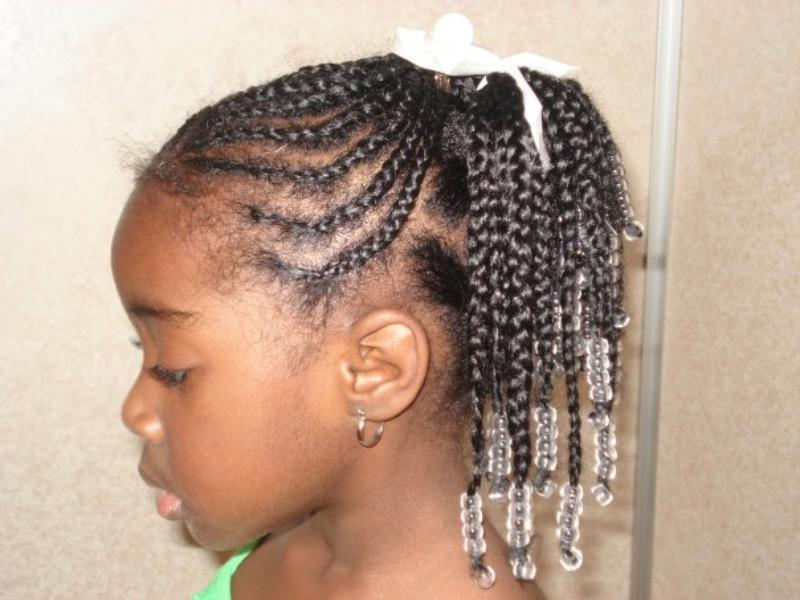 Black girls braids hairstyles