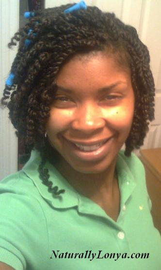 Maintain Kinky Twists