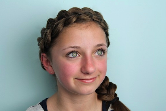 Pleasing Girls Braids Hairstyles Hairstyle Inspiration Daily Dogsangcom