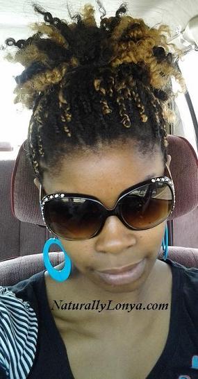Kinky Twists, box braids, senegalese twists