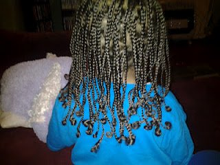 Mixed Boy braids hairstyles